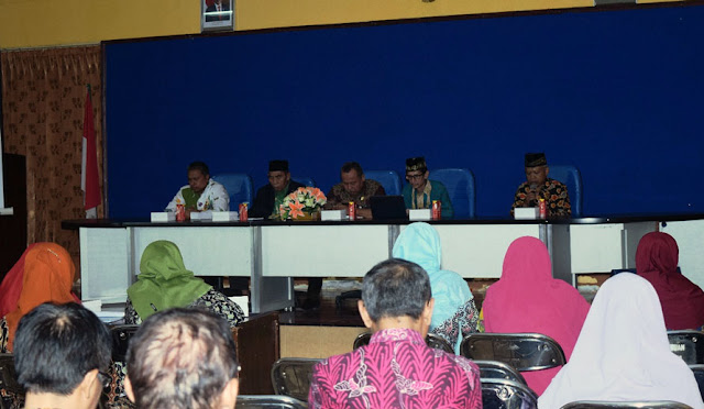 Koordinasi Baznas Lumajang dengan Kepala SMPN