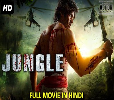 Jungle (2018) Hindi Dubbed 480p HDRip 300MB