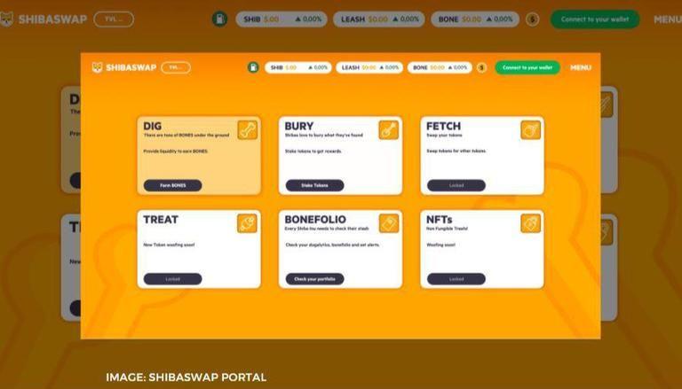 ShibaSwap Portal