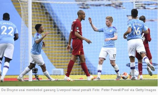 Manchester City vs Liverpool 4–0 Highlights