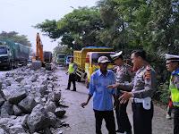 H-10 Lebaran Perbaikan Jalan di Jalur Pantura Batangan Ditarget Rampung
