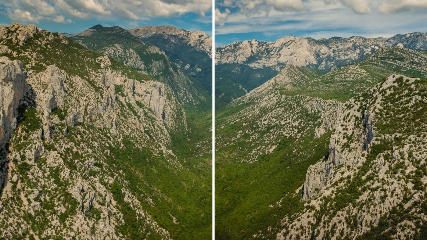 Wąwóz Wielka Paklenica Velebit Chorwacja