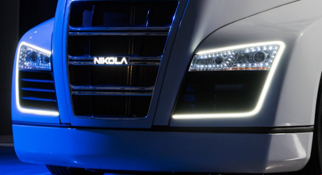 Nikola One hydrogen-electric semi truck taunted before tonight's unveiling