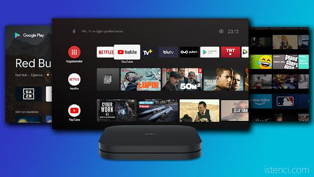 XIAOMI Mi Box S 4K Android TV Box Media Player