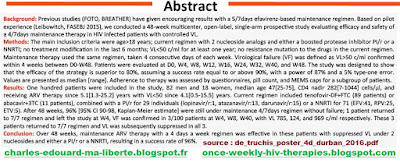 Leibowitch ANRS162-4D NCT02157311 hiv failure trial denial treatment abstract protease