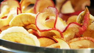 The finished apple rings
