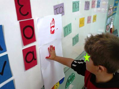 Αποτέλεσμα εικόνας για διακοσμηση ταξης με κανονες γραμματικης pinterest