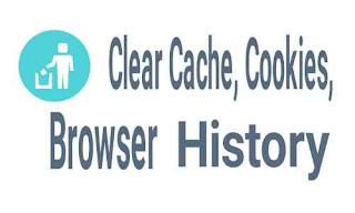 Cara menghapus cache, cookie dan history di browser