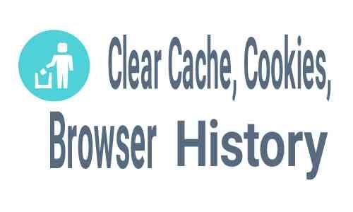 Cara menghapus cache, cookies dan history di browser