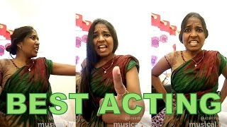 Anie Tamil Dubsmash – Great Acting | Must WATCH