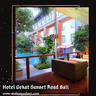 Hotel Dekat Sunset Road Bali