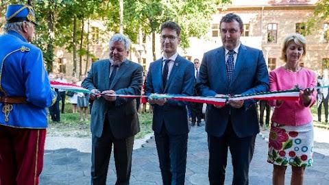 Palkovics László átadta a Budapesti Corvinus Egyetem új campusát Székesfehérváron