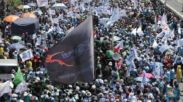 Mogok dan Demo Buruh Tolak RUU Ciptaker Bikin Pengusaha Ketar-ketir