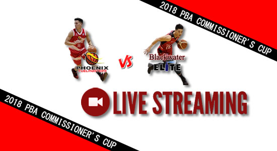 Livestream List: Phoenix vs Blackwater April 25, 2018 PBA Commissioner's Cup
