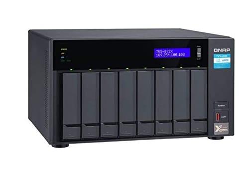 QNAP TVS-872X-i3-4G 8 Bay High-Speed NAS