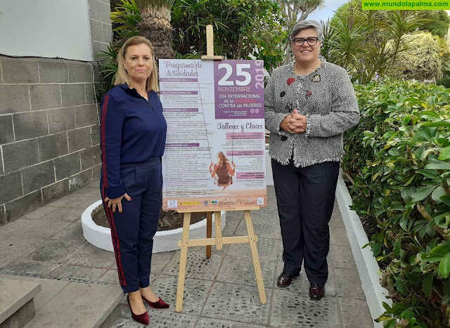 Igualdad organiza un extenso programa de actividades para conmemorar el Día Internacional contra la Violencia hacia las Mujeres