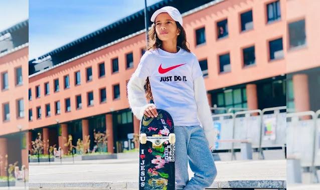 Medalhista olímpica aos 13 anos, Rayssa Leal costuma expressar sua fé em Jesus