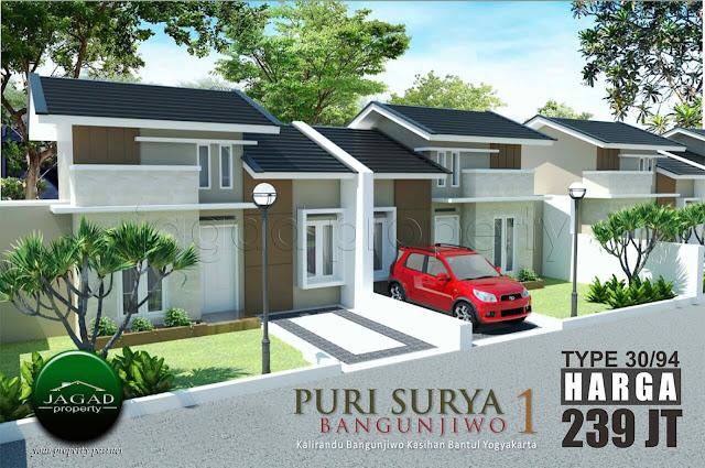 Rumah Minimalis Puri Surya Bangunjiwo I