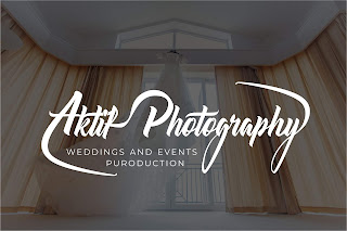 Aktif Photography logo tasarımı isme özel logo Weddings
