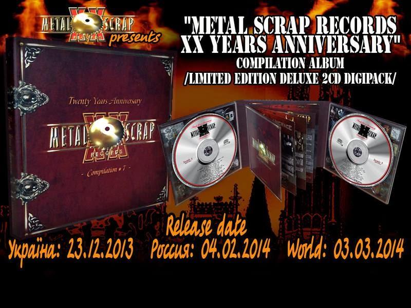 Soulgrinder Zine Metal Scrap Records20 Years Anniversary