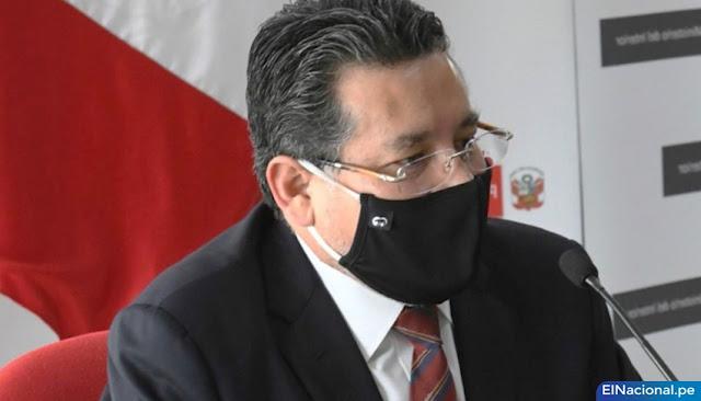 Ministro del Interior, Rubén Vargas