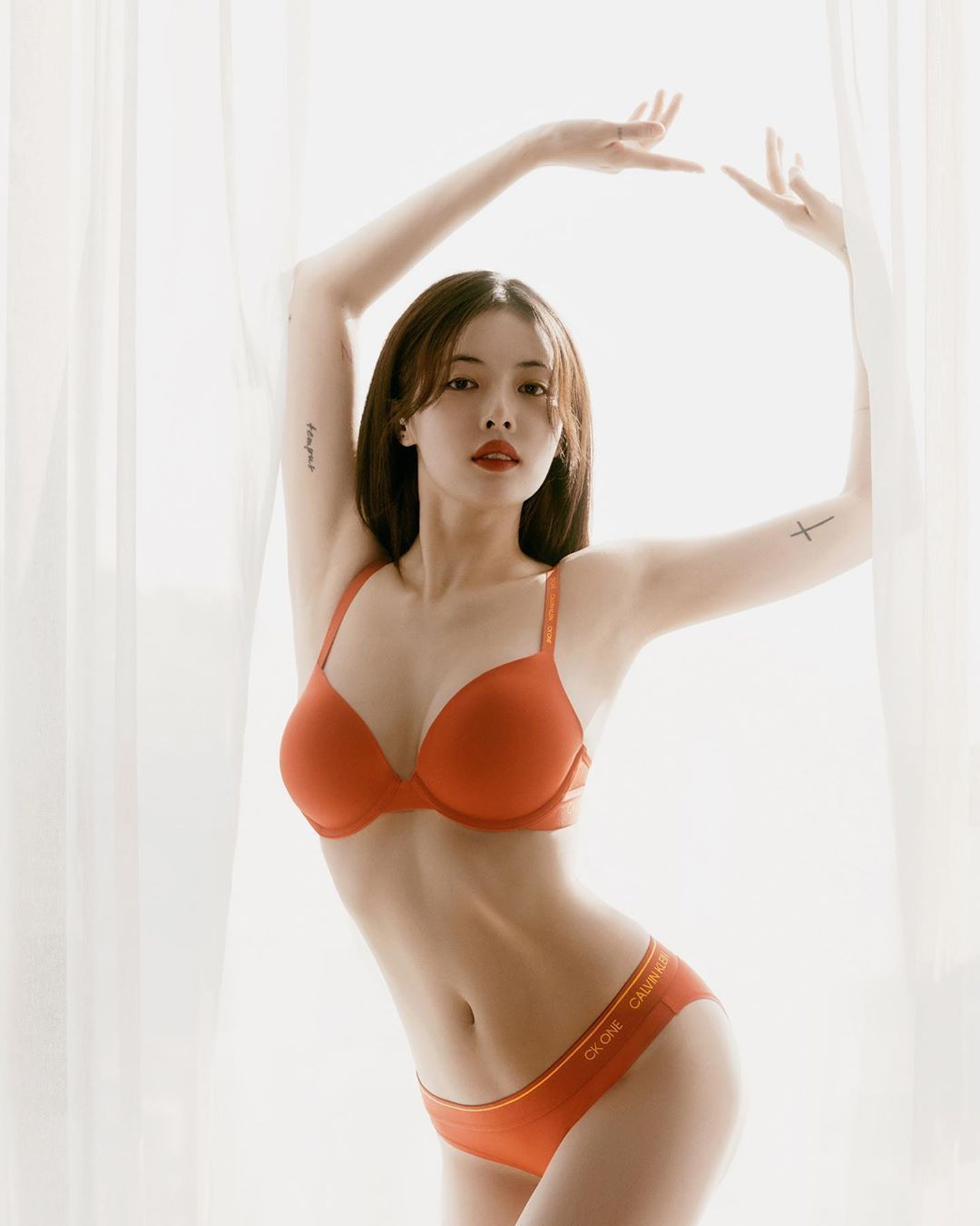 Hyuna Makes Netizens Amaze with Her Latest Photoshoot with Calvin Klein