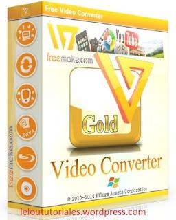 Freemake Video Converter Gold v4.1.9.6 + Serial [Full] [MEGA]