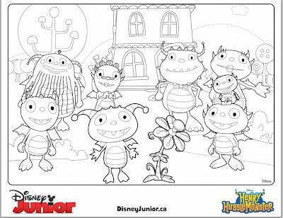 Disney Junior Canada Introduces Henry Hugglemonster & a