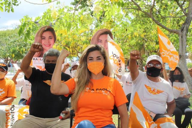 Concluye Karla Paola Medina exitosa campaña naranja