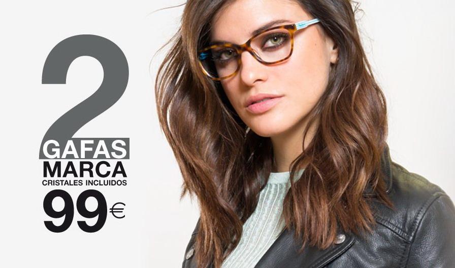 990753e332 me gusta ahorrar: 2 gafas de marca por 99€ en OPTICALIA