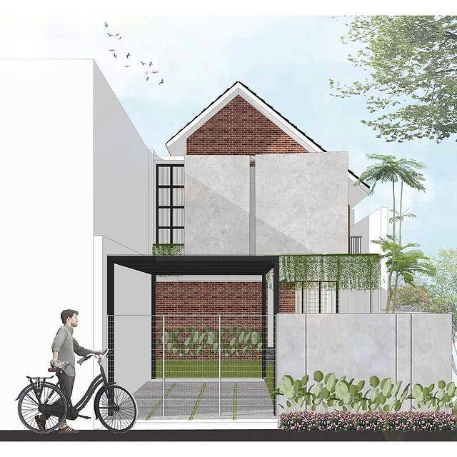 desain rumah eropa minimalis