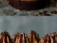 Chocolate Coffee Cardamom Layer Cake Recipe