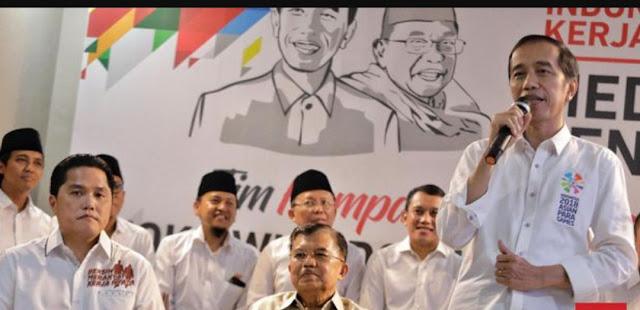 Barisan Gus dan Santri Deklarasi Dukung Jokowi-Ma'ruf