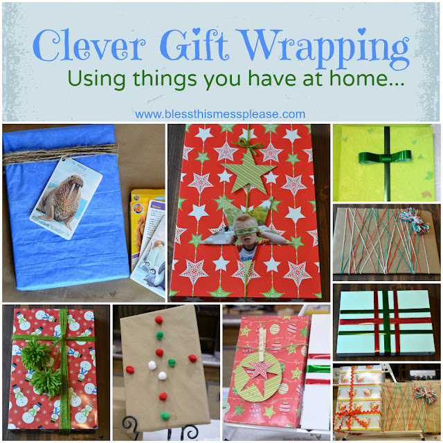 nice gift wrap, Christmas present wrapping ideas