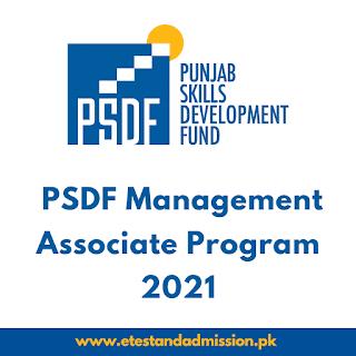 PSDF Management Associate Program 2021