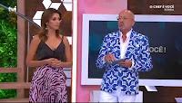 Goucha e Maria Cerqueira Gomes em O Chef é Você