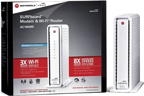 Review ARRIS SURFboard AC1750 SBG6782-AC Cable Modem