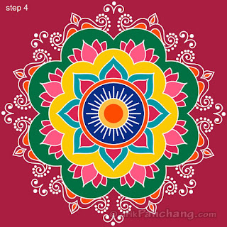 best diwali 2017 rangoli designs, images and pictures