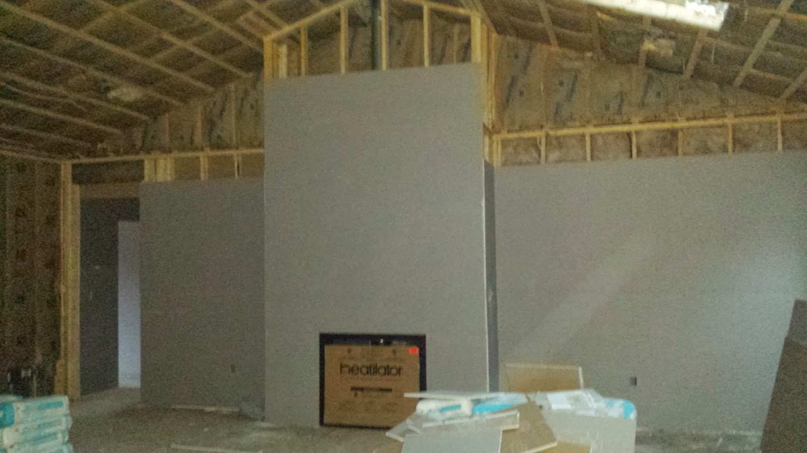 The Impatient Home Builder Hanging The Sheetrock
