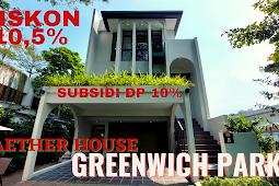 Aether House Greenwich Park BSD City Kawasan Premium Dekat Gading Serpong