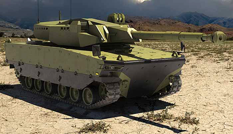Tank Kaplan MT/Black Tiger (FNSS - Pindad)