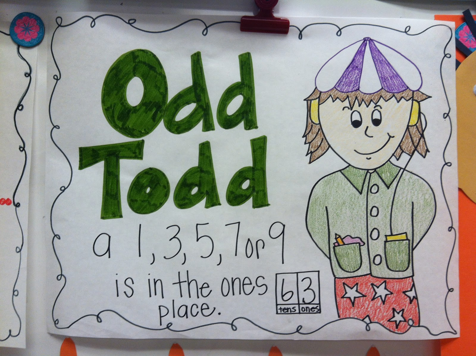 Even And Odd Numbers Freebie