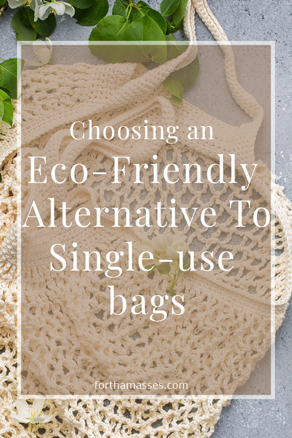 Eco-friendly alternative to single-use bags