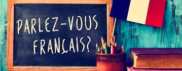 تتحدث الفرنسية
