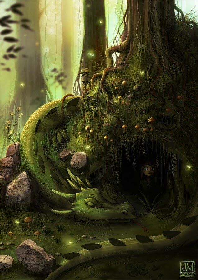 01-Forest-Dragon-Jeremiah-Morelli-www-designstack-co