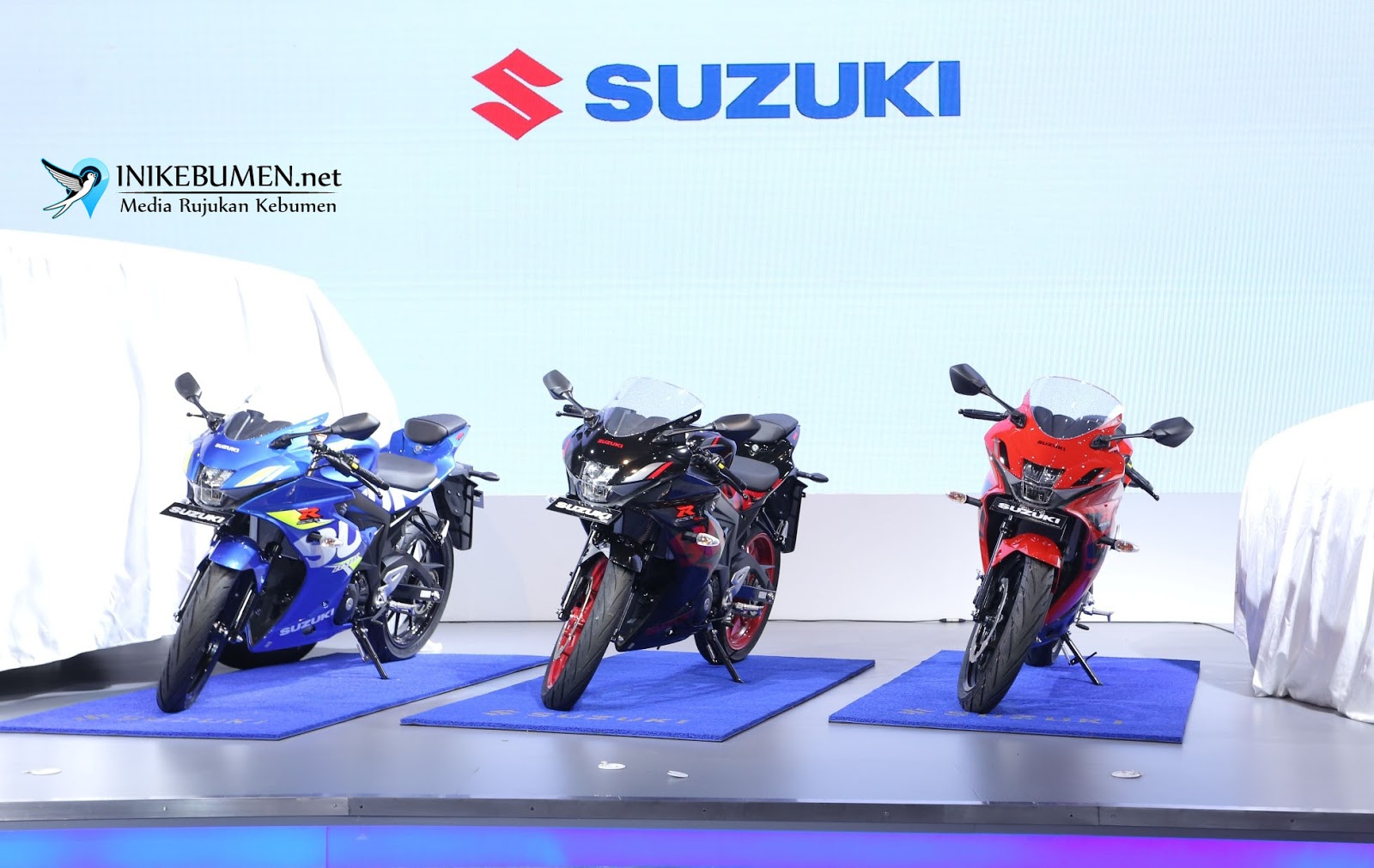 Suzuki GSX-R150 jadi The Best Sport Bike di IIMS Award 2018