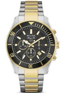 Bulova 98B249 Marine Star Two Tone Stainless Steel Chronograph