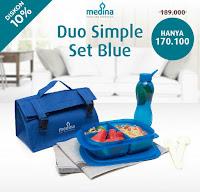 Dusdusan Duo Simple Set Blue ANDHIMIND