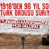 Türk ordusu Suriye topraklarına girdi