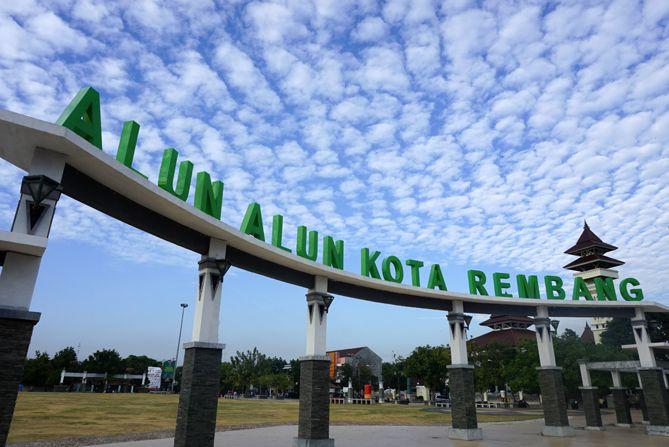 Landmark Alun-alun Kota Rembang